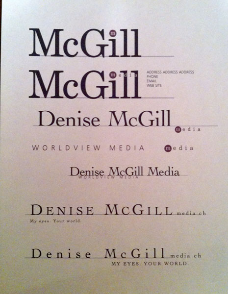 McGill's Old Logo ideas