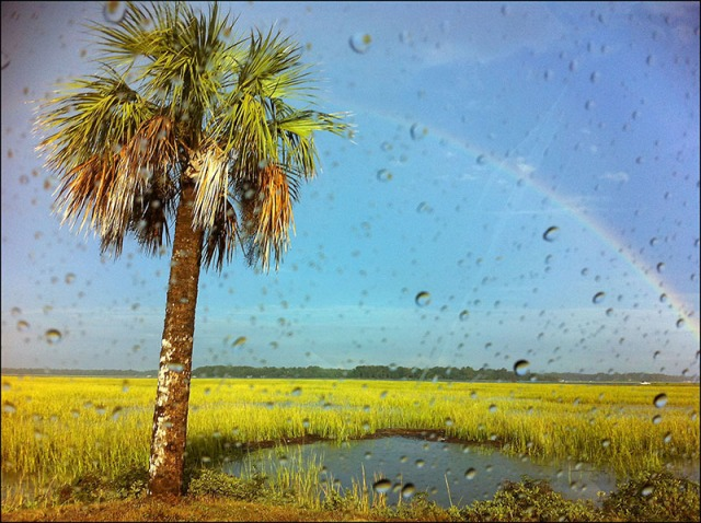 St. Helena Island rainbows