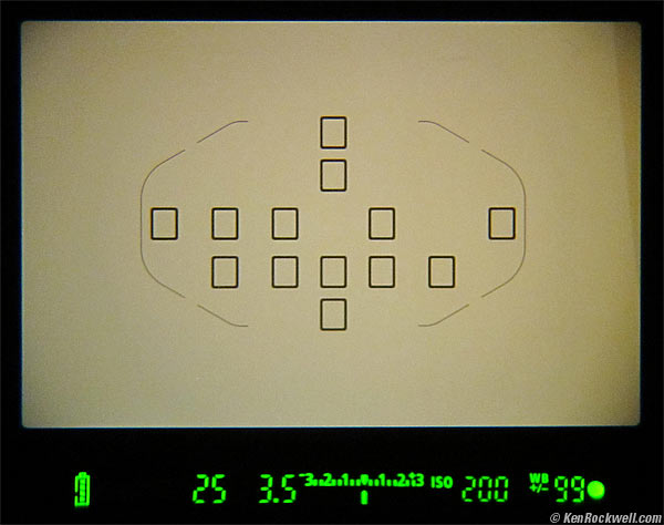 On the viewfinder of a Canon DSLR, the number on the bottom right is the number of photos you can take before you fill up the buffer. In this case, the buffer will hold at least 99 photos of the current format. If I were to switch to RAW format, the number might be lower because the data size is so large.